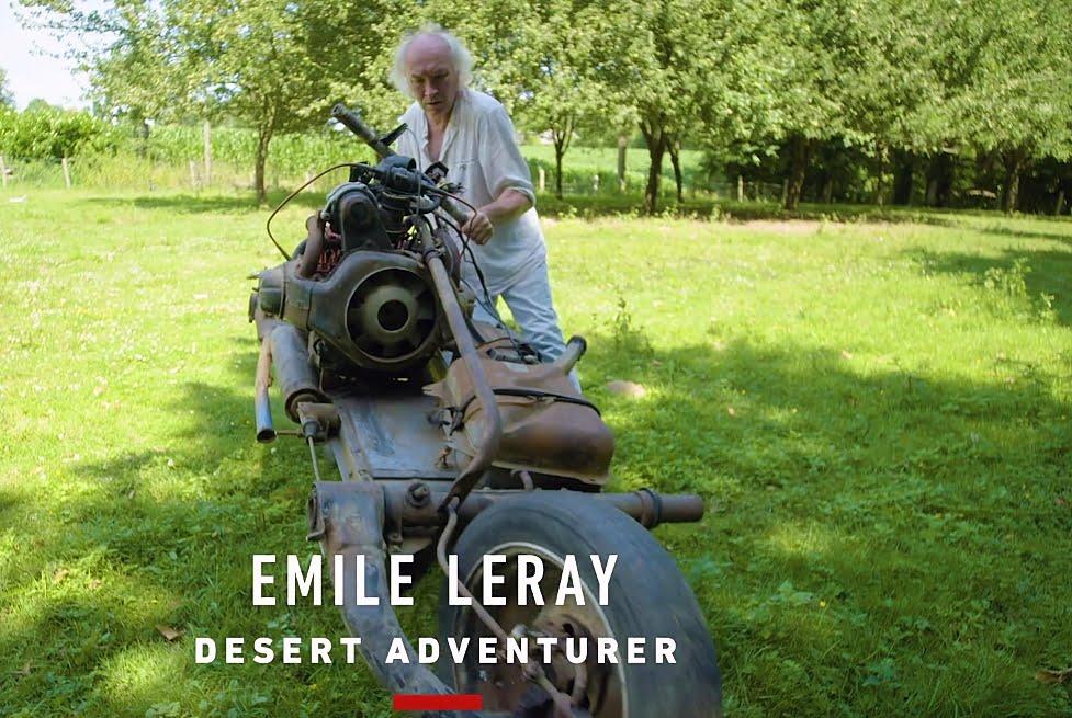 Emile Leray en su casa