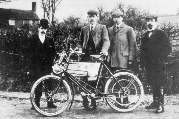 Historia de las marcas de moto