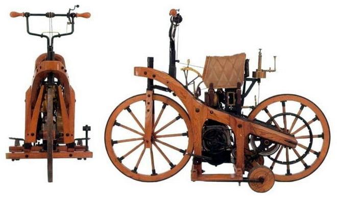La primera moto