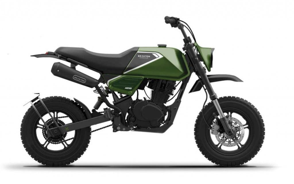 Crossfire 125 verde